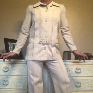 Vintage Retro 100% Polyester Pant Suit EUC Nardis
